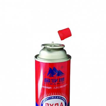 Portable Fuel Cylinder Cooker Butane gas canister 220g and tinplate BBQ butane gas cartridge