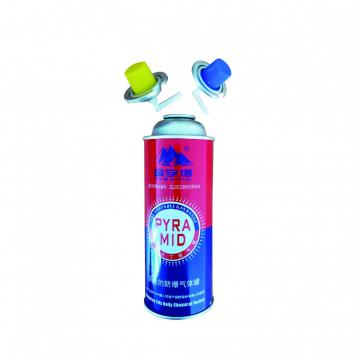 For Outdoor Camping Butane aerosol cans and gas cartridge