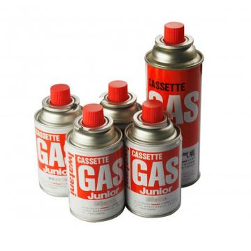 Empty Butane gas cartridge and butane gas can for portable gas stove