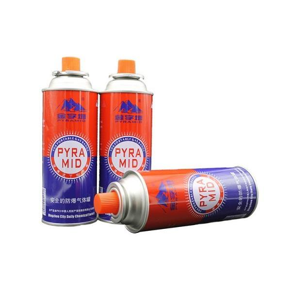 For outdoor grills Metal Tinplate Butane Gas Stove Refill Aerosol Cans